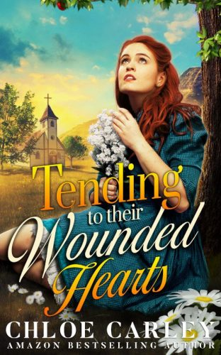 Tending to their Wounded Hearts, by Chloe Carley 500_800